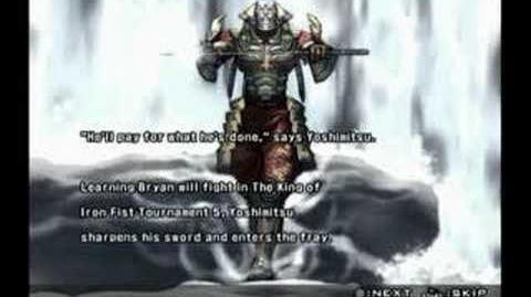 Tekken 5 Yoshimitsu Prologue and Epilogue
