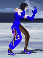 Anna Williams - Player Two Costume - Tekken 1