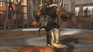 Tekken 5 Dark Resurrection Armor King Interludes