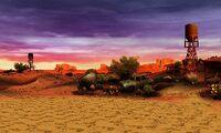 Desert wasteland-view