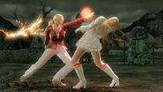 Nina Williams versus Lili (Tekken 6)