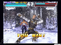Tekken Tag Tournament - Gun Jack and Forest Law - Win Animations