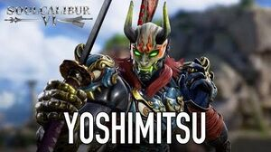 SOULCALIBUR VI - PS4 XB1 PC - Yoshimitsu (character announcement trailer)