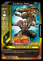 Tekken 5 Epic Battle Trading Card 4