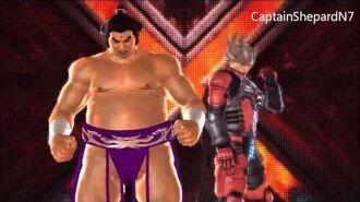 Tekken Tag Tournament 2 Ganryu Intro Pose 2