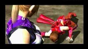 Tekken 5 Nina Interludes