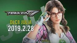 Julia Chang Trailer - Tekken 7