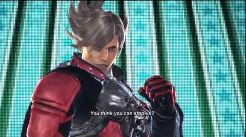 Tekken Tag Tournament 2 Lars Intro Pose