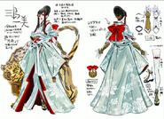Kazumi Tekken 7 diseño