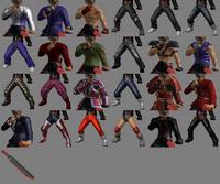 Tekken Tag Tournament 2 Lars Alexandersson Customization Items