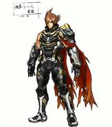Lars Tekken 7 diseño