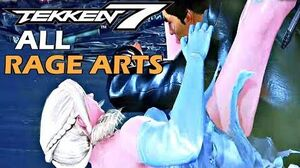 Tekken 7 - All Rage Arts (ALL 37 CHARACTERS) 1080P 60FPS
