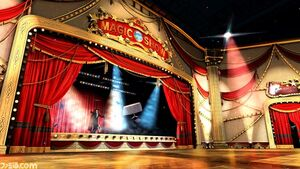Odeum of illusions stage