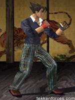 image jin kazama player three costume tekken 3 jpg tekken