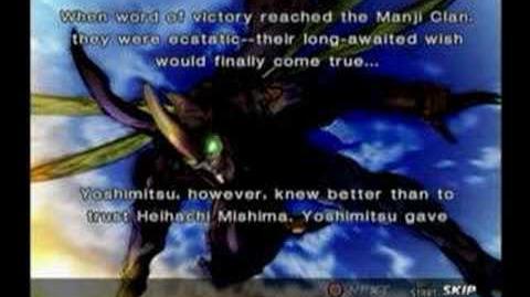 Tekken 4 Yoshimitsu Prologue and Epilogue