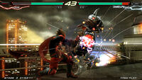 Lars versus Armor King - Tekken 6 Bloodline Rebellion