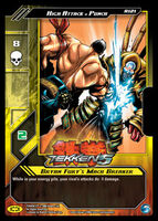 Tekken 5 Epic Battle Trading Card 2