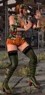 Tekken Tag Tournament Anna P4 Outfit