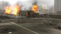 TK6 Urban War Zone explosions