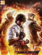 Tekken6 poster Miguel Heihachi Jin