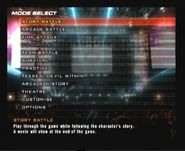 Tekken-5-playstation-2-screenshot-main-menu