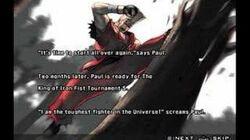 Tekken 5 Paul Prologue and Epilogue