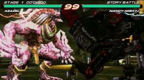 Tekken 6 PSP Azazel vs
