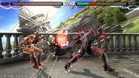 Lars versus Julia - Tekken 6 Bloodline Rebellion