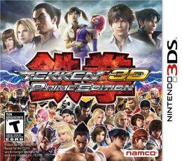 Tekken 3D Prime Edition box art
