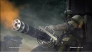 G corp heavy trooper with M134 Minigun