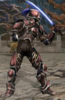 Tekken Tag Yoshimitsu Red