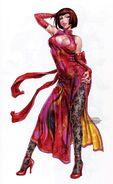Anna Williams art by Shunya Yamashita