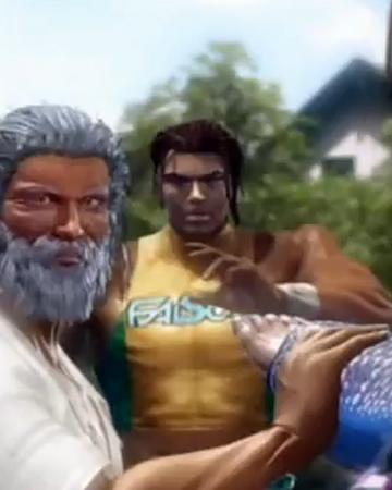 tekken characters male white hair