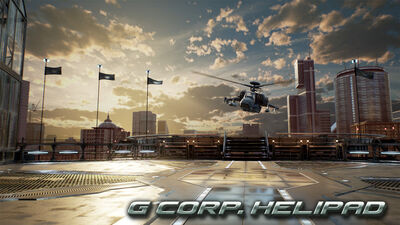 T7 Stage - G Corp Helipad