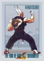 Heihachi Tekken 4 Art 1