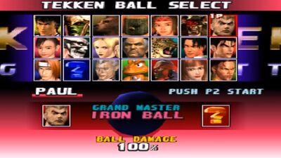 Tekken Ball Tekken Wiki Fandom