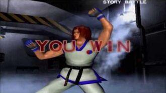 Tekken 4 Hwoarang All Intros & Win Poses