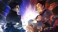 Tekken6 Kazuya prologue art 1