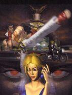 Tekken 1 Kazuya, Heihachi y Nina