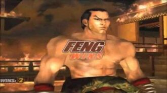 Tekken 5 Feng Wei All Intros & Win Poses