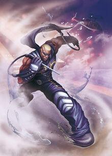 Raven street fighter x tekken