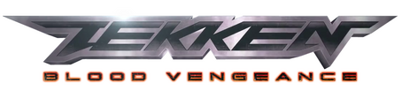 Tekken blood vengeance logo 2