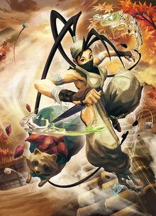 Ibuki street fighter x tekken
