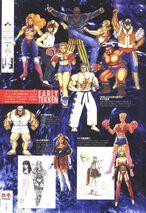 Tekken-rave-war-personnages early tekken