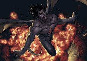 Kazuya mishima prologue tekken 5 devil