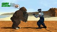 Tekken 2 - Mode Pratice - Pensées des personnages - Kuma (2)