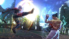 Tekken-revolution lars kazuya