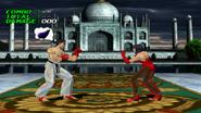 Tekken 2 - Mode Pratice - Pensées des personnages - Kazuya Mishima (3)