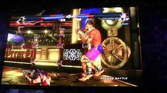 Tekken Tag Tournament 2 - Gameplay de Kunimitsu à l'E3 2012