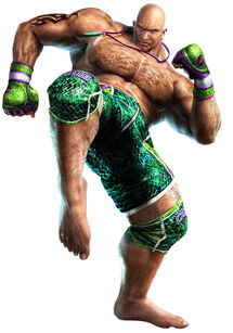 Craig Marduk CG Tekken 6 Bloodline Rebellion
